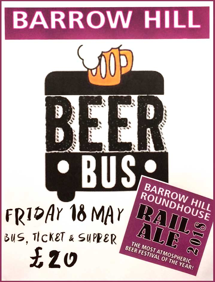 Rail Ale Beer Bus from The Smithfield Alehouse in Derby